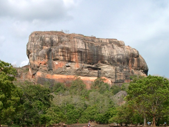 Journey's End: Sigiriya Rock, Sri Lanka. Picture Credit: ???? via Wikimedia Commons