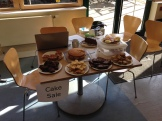 Cakes in aid of Oxfam at Bertrams