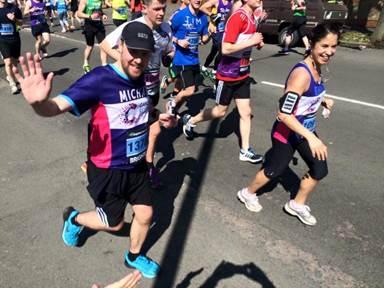 Michael Williams Brighton Marathon