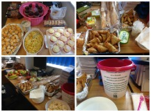 Borehamwood had a fun food day