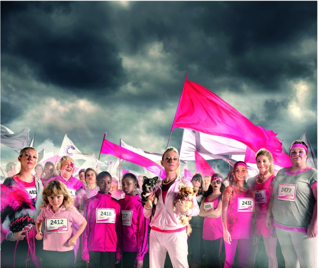 Cancer Research UK Race for Life Image