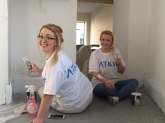 FSSC decorated Forget Me Not Hospice's new charity shop
