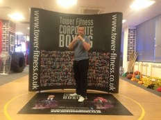Graham Carr joined his local corporate boxing challenge