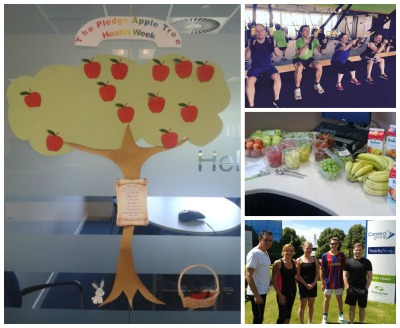 Rowan House Health Week Pledge tree and activities