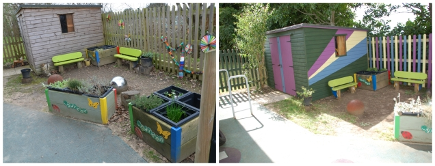 The Consortium made a difference to the local Stepping Stones nursery