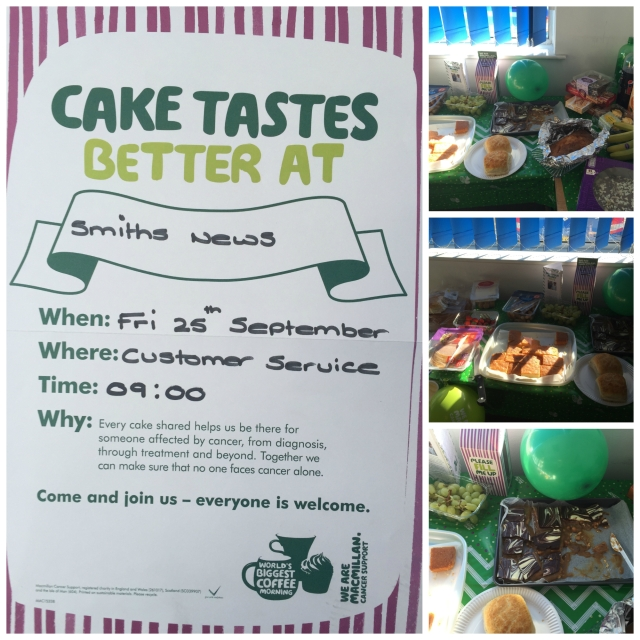 Borehamwood Macmillan Coffee Morning Cake Collage