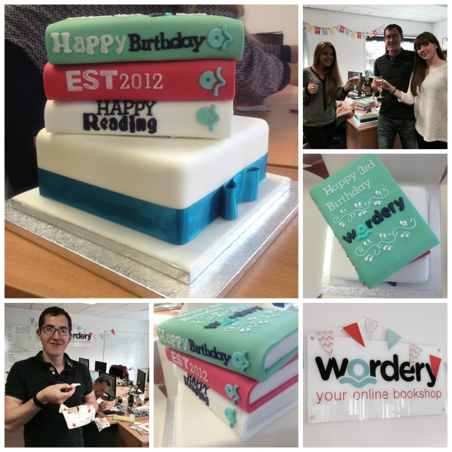 Wordery Cake Collage